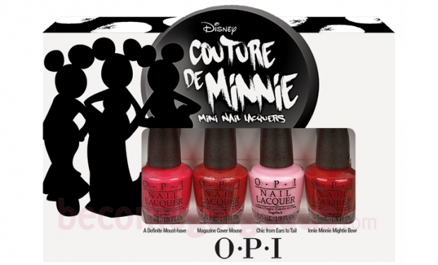 OPI launches Couture de Minnie 2013 Collection