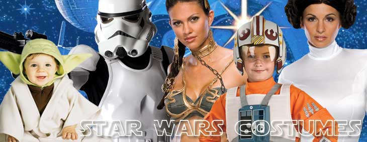 Look nerdalicious with the Star Wars Costumes