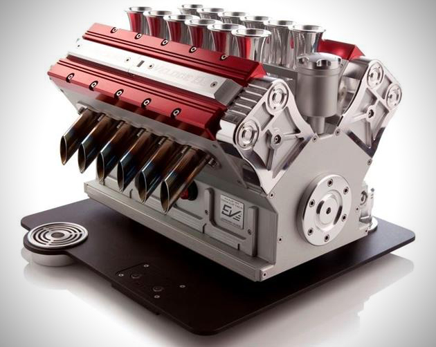The V12 engine inspired Espresso Veloce is as mechanical art in motion