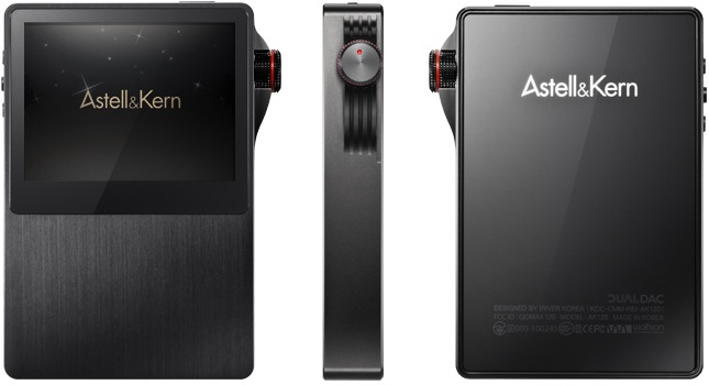 iRiver unveils the exciting new Astell & Kern AK120 Professional Portable MQS Player