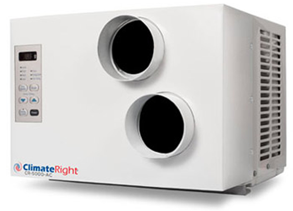 The Climate Right Dog House Air Conditioner keeps your pet cool all summer