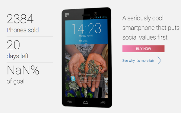 Worlds first ethically sourced smartphone is called Fairphone