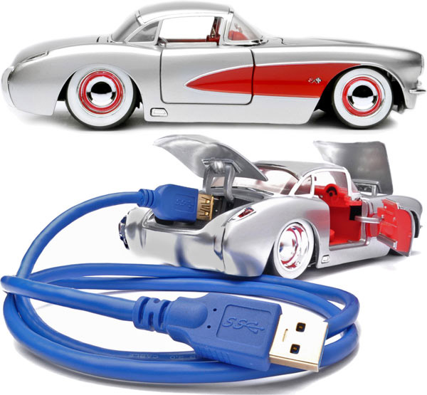 Flash Rods launches Muscle Car USB 3.0 drives
