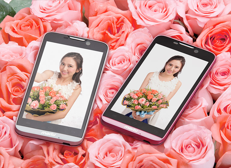 China's MeituKiss phone is for Photoholic women!