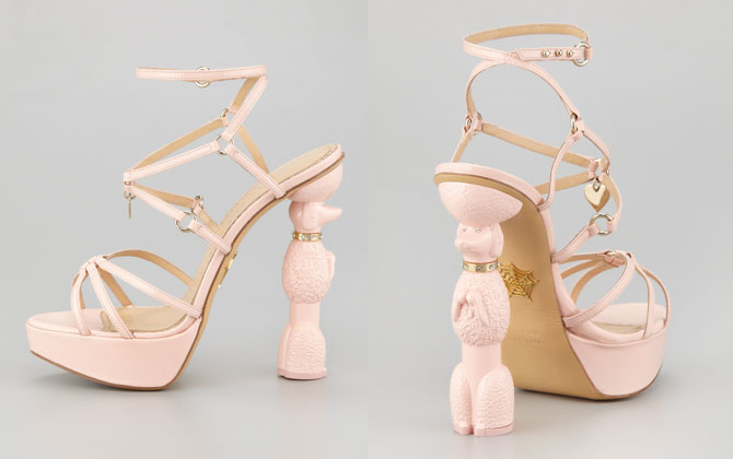 Charlotte Olympia Poodle Sandal will hold you high!