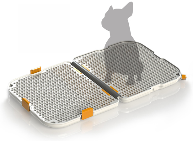 Modko Shake Dog Potty is for modern pets!