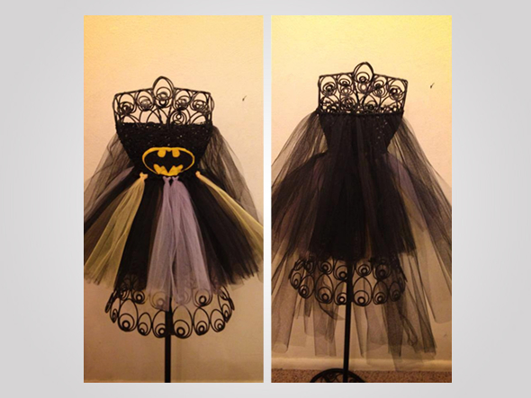 Batman Tutu Dress is for toddlers with superpowers!