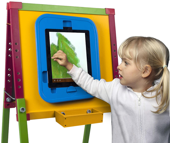 iPad- Digital Drawing Easel is for little Picasso's