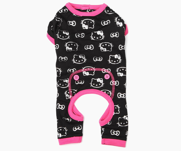 The Hello Kitty Pet Pajamas: Your pooch will sleep in style
