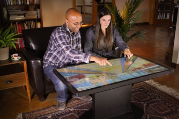 Ideum unveils their new Platform 46 Multi-touch Coffee Table