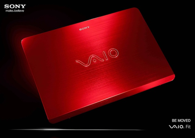 Sony rolls out limited edition Red Vaio laptops