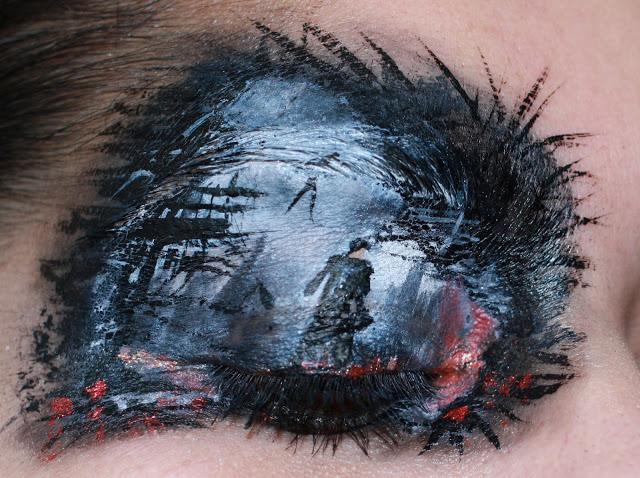 Astonishing Star Trek into Darkness Inspired Eye-Makeup