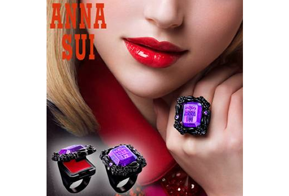 Anna Sui Rouge Ring is a Perfect Combination!
