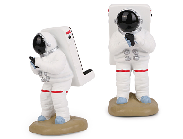 Astronaut Smartphone Stand gives spacial support! - Gizmodiva