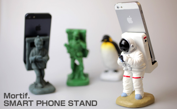 Astronaut Smartphone Stand gives spacial support!