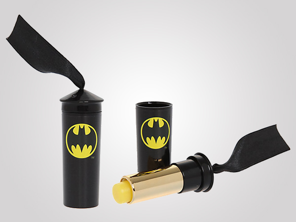 Dark Knight Moisturizes with Batman Vanilla Lip Balm!