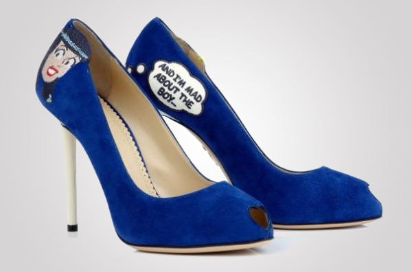 Charlotte Olympia's Archie collection Woos with Shoes