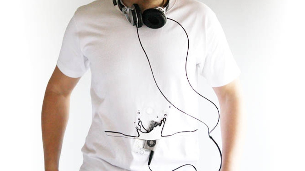 Wear an iPhone on your Shirt with Inink's Playful Tees