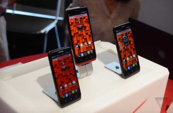 Motorola unveils Verizon exclusive Droid Series