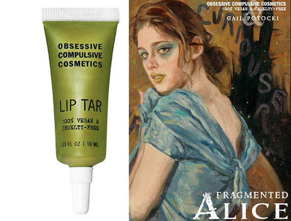 Obsessive Compulsive Cosmetics' dramatic new Fragmented Lip Tar debuts at Comic Con