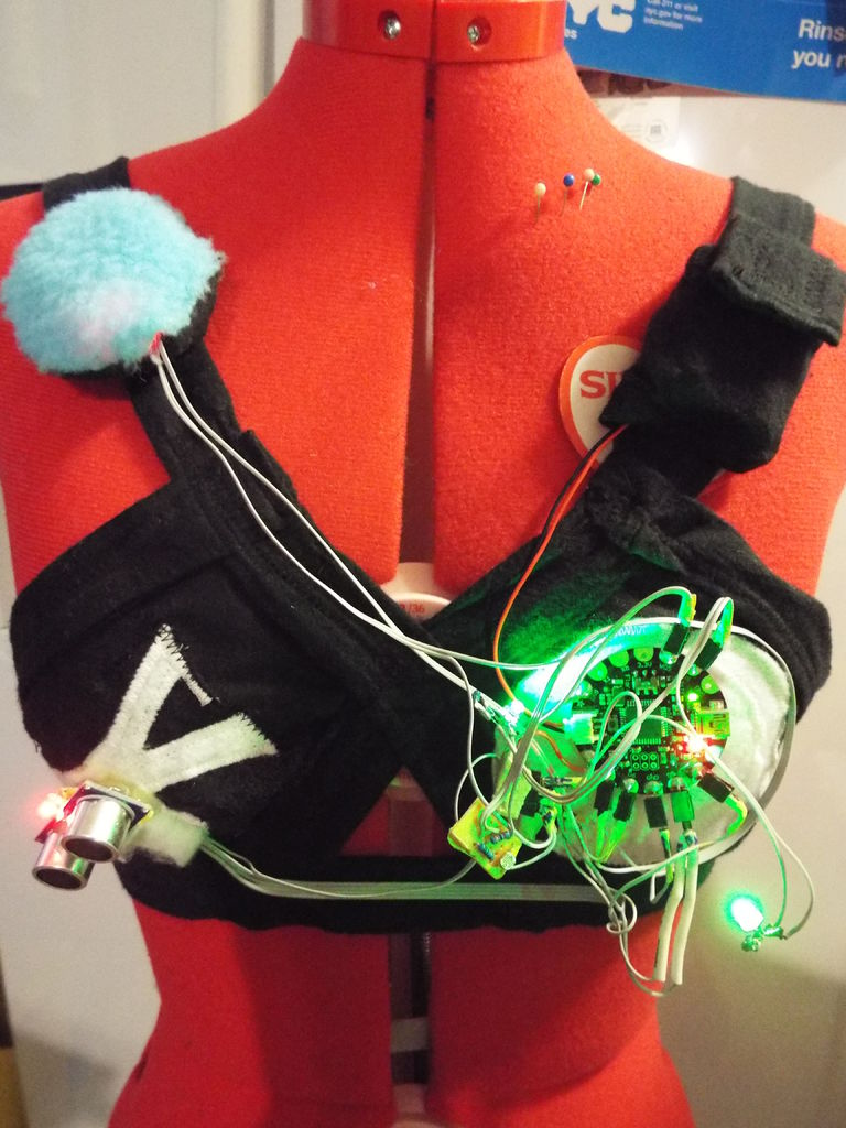 Star Wars Theremin Bra is too complicated to wear