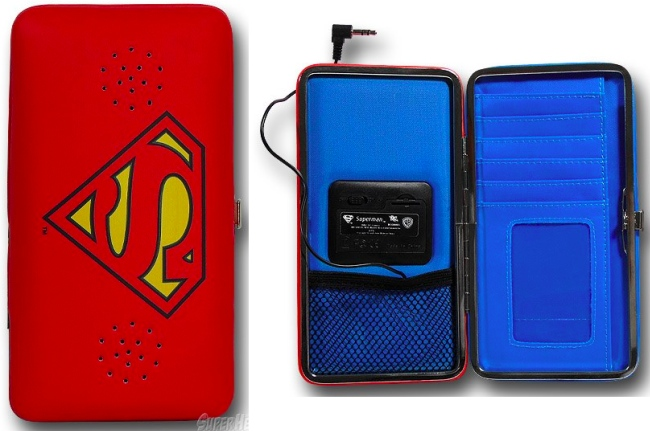 Superman Wallet has a hidden superpower!