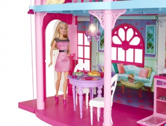 Barbie's Dream house gets a plush makeover!