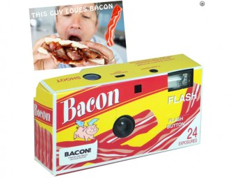 The Bacon Magic Disposable Camera makes everything better