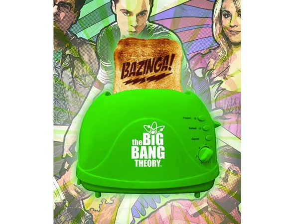 Big Bang Theory Toaster adds Bazinga on your toast