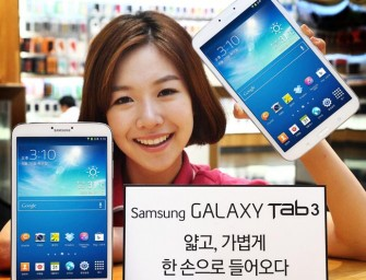 Samsung launches Galaxy Tab 3 8.0 in South Korea