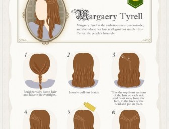 DIY Guide to Game Of Thrones Hairstyles