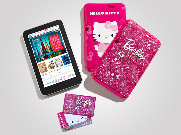 Hello Kitty and Barbie themed Tablet by Vivitar