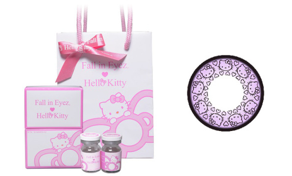 Hello Kitty Contact Lenses Debut in Japan