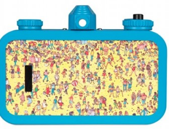 The special edition Lomography La Sardina Wally Watcher: Do you see him yet?