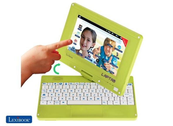 Lexibook Laptab is like a convertible ultrabook for Kids