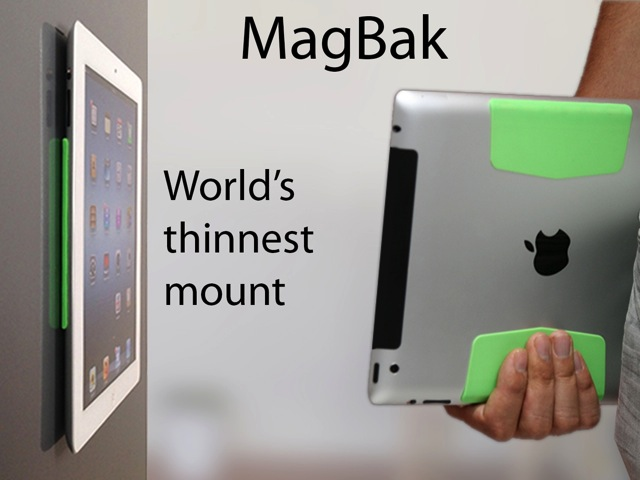 Stick your iPad anywhere with the MagBak Mount