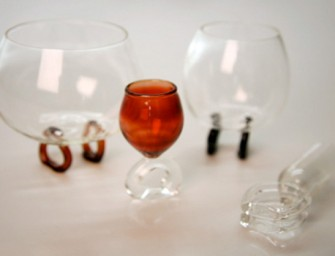 Classy Rings with mini glasses part of Seduction Series