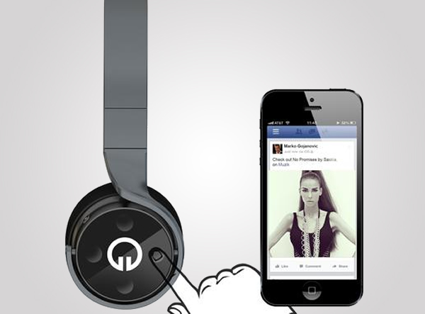 Make Listening to Music a Social Experience with Musik Headphones