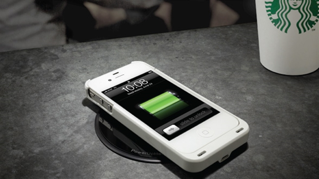 Silicon Valley Starbucks offers Coffee and Integrated Wireless Charging Points