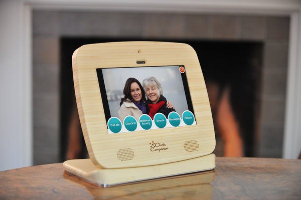 Claris Companion is a simplified tablet for senior citizens