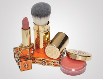 Tory Burch all set with a beautiful Beauty, Fragrance and Bath line