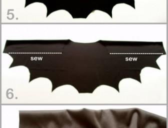 DIY Easy Bat Wing Shrug: So simple, so spectacular