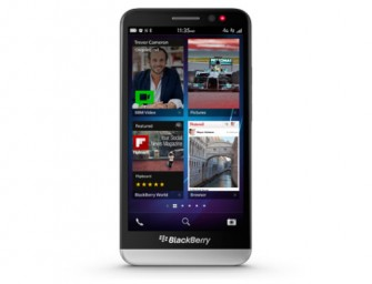 Blackberry launches the Z 30 Smartphone