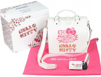 Exclusive Hello Kitty Casio Exilim TR10 Camera