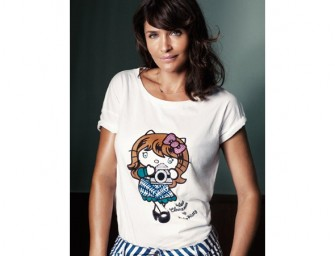 Hello Kitty's new chic look by Helena Christensen