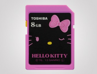 Toshiba announces new Hello Kitty themed Memory Cards