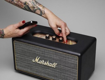 The new vintage looking Marshall Stanmore is too gorgeous for words