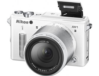 The Nikon 1 AW1 waterproof shockproof mirrorless camera