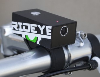 Rideye, the Black Box Camera for Bikes