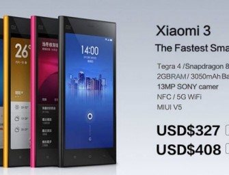 Xiaomi looks to impress with their new MiPhone 3